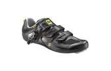 Mavic Avenge schoenen Men black/metallic silver/black